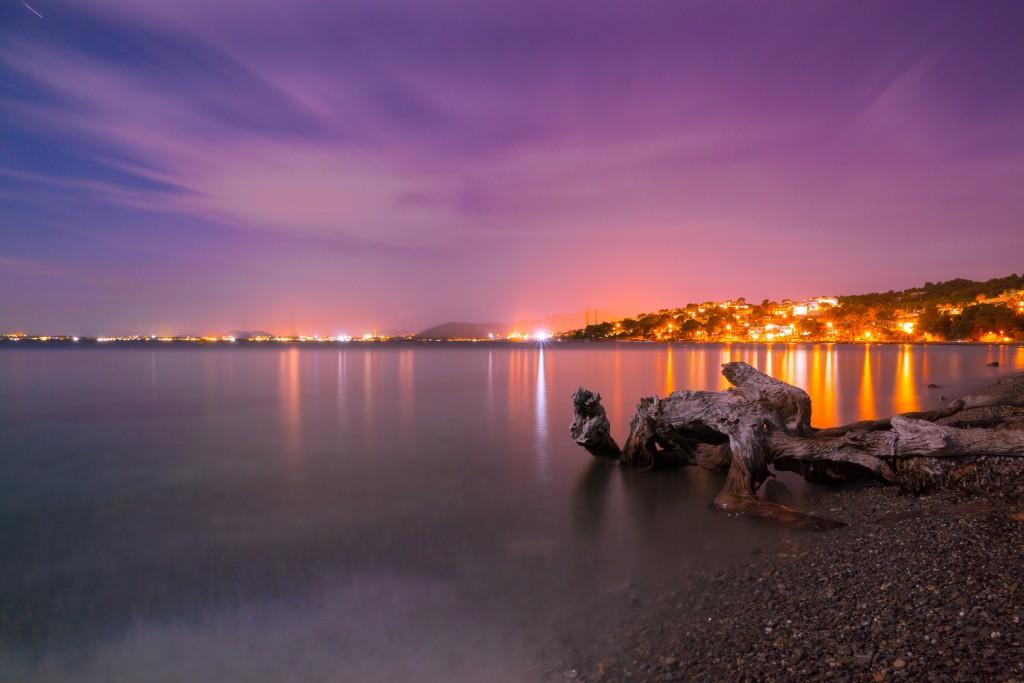 Night on the beach - Mallorca
